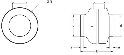 Dryer Booster Fan Kit w/ Pressure Switch - Continental Fan