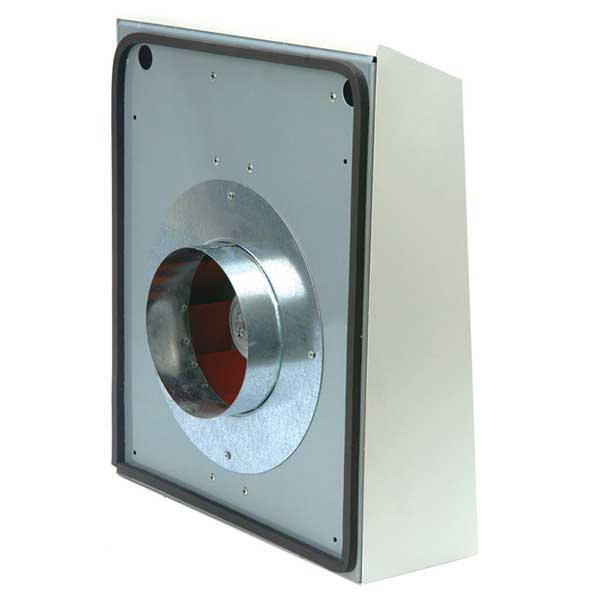 Wall mounted cabinet for bathroom - Ext External Mount Duct Fans Continental Fan