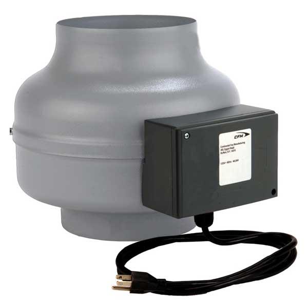 Commercial Amp Industrial Exhaust Fans : Sef shutter mount wall exhaust fans continental fan