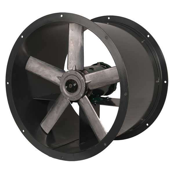 Industrial Axial Fans : Add direct drive tubeaxial fans continental fan