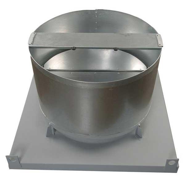 Ubvl Belt Drive Upblast Roof Ventilators Continental Fan