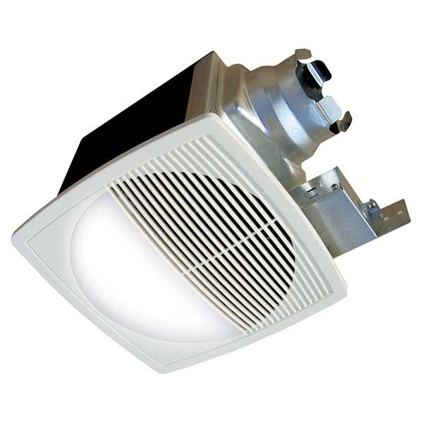 Aerofan lighted bathroom exhaust fans continental fan for Residential exhaust fans for bathrooms