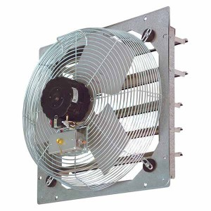 SEF Shutter Mount Wall Exhaust Fans