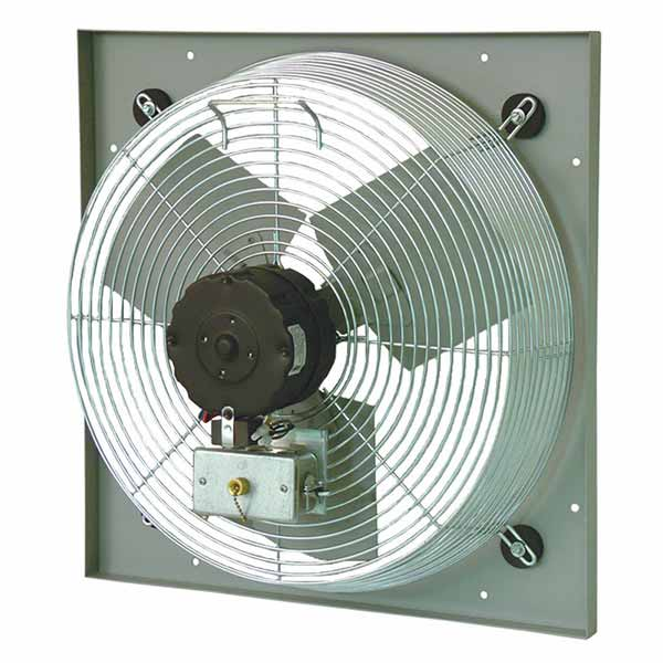 Commercial Ventilation Fans Industrial : Pef panel mount wall exhaust fans continental fan