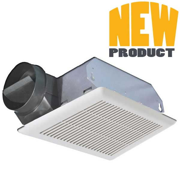 Cf bathroom exhaust fans continental fan for Residential exhaust fans for bathrooms