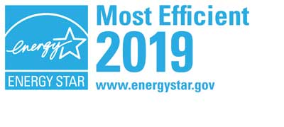 ENERGY STAR Most Efficient 2019 recognition