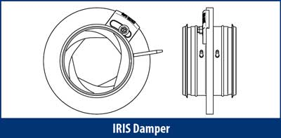 IRIS damper Drawing