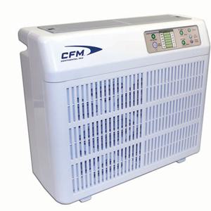 Air purification with a portable air purifier