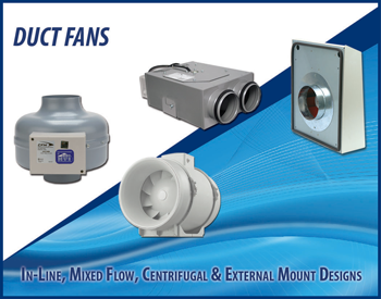 Duct fans available from Continental Fan